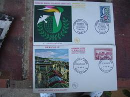 Lot 21 Fdc Annees 60 Enveloppe 1 Er Jour - FDC