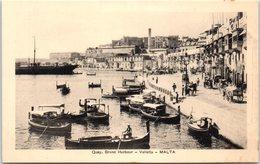 MALTA -- Quay , Grand Harbour Valletta - Malta