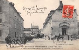 ¤¤  -  SOISSONS   -  Caserne Charpentier  -  Retour D'une Marche     -  ¤¤ - Soissons