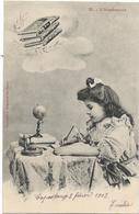 4021  - Illustrateur Bergeret - Lot De 3 Cpa - Le Pot - L'esperance - La Charité - Bergeret
