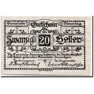 Billet, Autriche, Sierning, 20 Heller, Paysan, 1920, 1920-03-20, SPL, Mehl:995g - Austria