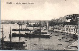 MALTA -- Intérior Grand Harbour - Malta