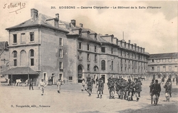 ¤¤  -  SOISSONS   -  Caserne Charpentier  -  Le Batiment De La Salle D'Honneur     -  ¤¤ - Soissons