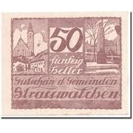 Billet, Autriche, Strasswalchen, 50 Heller, Paysage, 1920, 1920-04-24, SPL - Austria