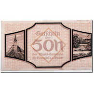 Billet, Autriche, St Georgen, 50 Heller, Carte, SPL, Mehl:886 I - Austria