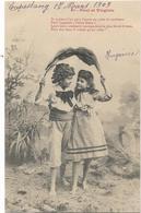 4022  - Illustrateur Bergeret - Lot De 5 Cpa - Paul Et Virginie - Bergeret