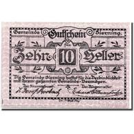 Billet, Autriche, Sierning, 10 Heller, Paysan, 1920, 1920-03-20, SPL, Mehl:995e - Austria
