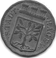 Notgeld  Hagen 50 Pfennig 1917 Zn 5426.6 - [ 2] 1871-1918 : Empire Allemand