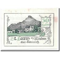Billet, Autriche, St Lorenz, 50 Heller, Paysage, SPL, Mehl:904 - Austria