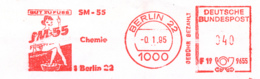 Freistempel 1689 Dame Chemie - Marcophilie - EMA (Empreintes Machines)