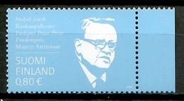 Finland 2008 Finlandia / Nobel Prize Martti Ahtisaari MNH Premio Nobel / Ki13  30-27 - Premio Nobel