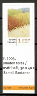 Finland 2006 Finlandia / Textile Art MNH Arte Textil / Ki12  30-25 - Textiles
