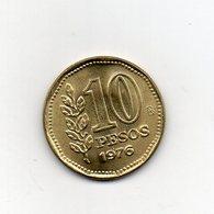 Argentina - 1976 - 10 Pesos - Vedi Foto - (MW2521) - Argentina