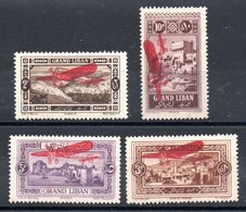 GRAND LIBAN - YT PA N° 13 à 16 - Neufs * - MH - Cote: 20,00 € - Great Lebanon (1924-1945)