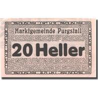 Billet, Autriche, Purgstall, 20 Heller, Valeur Faciale, SUP+, Mehl:FS 794I.1.1 - Austria