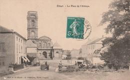 ETIVAL : (88) La Place De L'Abbaye - Etival Clairefontaine