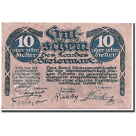 Billet, Autriche, Steiermark, 10 Heller, Graphique, SPL, Mehl:1014a - Austria