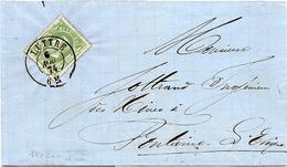 SH 0015. N° 30 DC LUTTRE 6 AOÛ 74 S/LAC V. Fontaine L' Evêque; TB - 1869-1883 Leopoldo II