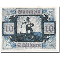 Billet, Autriche, Schildorn, 10 Heller, Personnage, 1920-12-31, SPL, Mehl:959a - Austria