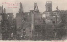 ETIVAL : (88) La Dernière Des Maisons Incendiées De La Cour De L'Abbaye - Etival Clairefontaine