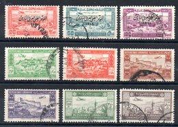 GRAND LIBAN - YT PA N° 84 à 90 - Cote: 99,75 € - Grand Liban (1924-1945)