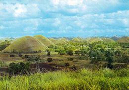 1 AK Philippinen * Die Chocolate Hills Auf Der Insel Bohol - Diese Ungewöhnliche Formation Ist Für Das UNESCO Erbe Vorg. - Filippine