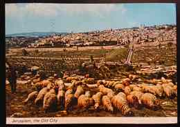 Jerusalem - General View Of The Old City - Vg - Israele