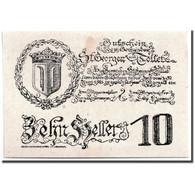 Billet, Autriche, St Georgen, 10 Heller, Eglise, SPL, Mehl:FS 890 - Austria