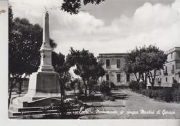 LOCRI REGGIO CALABRIA MONUMENTO AI CINQUE MARTIRI DI GERACE - Reggio Calabria