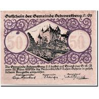 Billet, Autriche, Schwertberg, 50 Heller, Ecusson, 1920, 1920-03-20, SPL - Austria