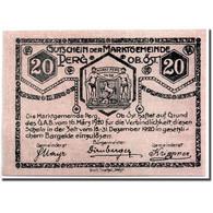 Billet, Autriche, Perg, 20 Heller, Ecusson, 1920, 1920-03-16, SPL, Mehl:730 I - Austria