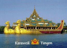 1 AK Myanmar (Burma) * Yangon Früher Rangoon - Mit Dem Karaweik Palast * - Myanmar (Burma)