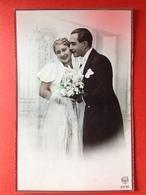 JAREN 40 / 50 - BRUID EN BRUIDEGOM - TROUWJURK - MARIAGE - Couples
