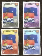 Kiribati 2006 Yvertn° 595-598 *** MNH  Cote 27 Euro 50 Ans Europa 50 Jaar - Kiribati (1979-...)