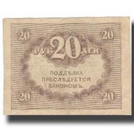 Billet, Russie, 20 Rubles, Undated (1917), KM:38, TTB+ - Russia