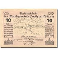 Billet, Autriche, Furth, 10 Heller, Paysage, 1920, 1920-09-30, SPL, Mehl:FS 214c - Austria