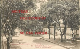 ☺♦♦ GUINEE - CONAKRY - AVENUE Du GOUVERNEMENT < N° 50 Edition A. James - French Guinea