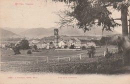 ETIVAL : (88)  Vue Sur L'Abbaye - Etival Clairefontaine
