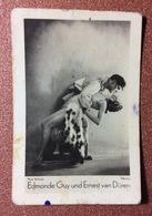 Old Cigarette Card. Photo Schneider. Edmonde Guy And Ernest Van Duren - DANCE. Photo Trading Card - Altri