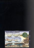 JERSEY BLOC 6** SUR LA CONSTRUCTION NAVALE A JERSEY - Jersey