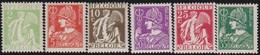 Belgie    .  OBP    .    335/340      .     **     .     Postfris   .   /   .  Neuf SANS Charniere - Belgique