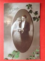 1921 - BRUIDSPAAR - MARIAGE - BRUID EN BRUIDEGOM - COURONNE - KROONTJE - Couples