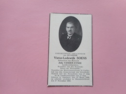 D.P.-VICTOR-LOD.SOENS °ASPELAERE 25-3-1865+STROMBEEK-BEVER 3-11-1932 - Religione & Esoterismo