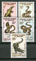 MAURITANIE ( POSTE ) : Y&T  N°  263/267  TIMBRES  NEUFS  SANS  TRACE  DE  CHARNIERE . - Mauritania (1960-...)