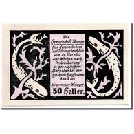 Billet, Autriche, St Roman, 50 Heller, Animaux, 1920, 1920-05-24, SPL, Mehl:935a - Austria