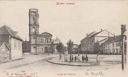 ETIVAL : (88) Place De L'église - Etival Clairefontaine
