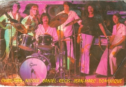 Carton Orchestre Régis Hollender Années 1970 - Musique Et Musiciens