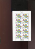Belgie Bloc 50 Years Zip Codes 2019 MNH 4857 - Panes