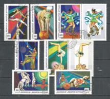 Mongolia 1974 Used Stamps CTO , Set  Circus - Mongolia