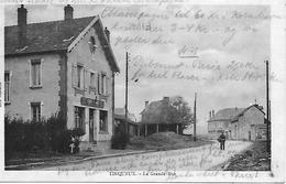 51 TINQUEUX LA GRANDE RUE LE CAFE TABAC  GOMMABLE - France